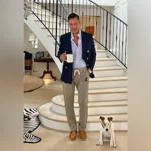 AK MC Cotton Sartorial Tennis Pants Grey