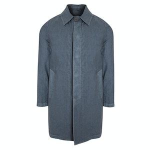 Light Blue Cotton Duster Jacket