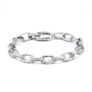Silver Warrior Bracelet