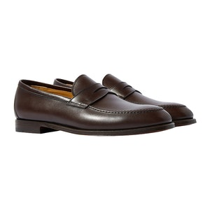 Brown Calf Skin Stefano Loafers