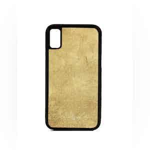 Beige Suede iPhone X Case