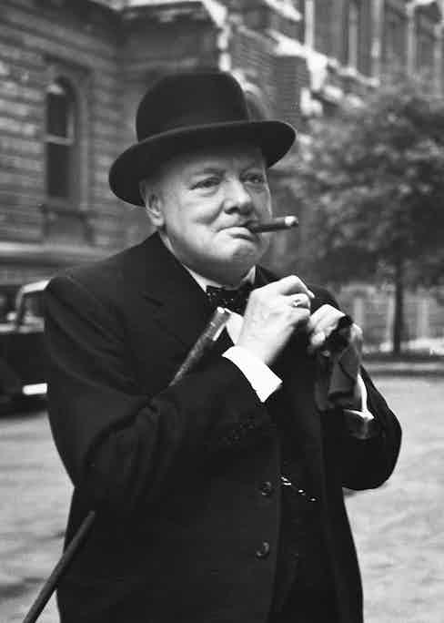 Winston Churchill was purportedly an avid fan of Romeo y Julieta cigars.