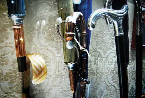 Silver handles are hugely popular despite being icy cold to the touch in the winter.