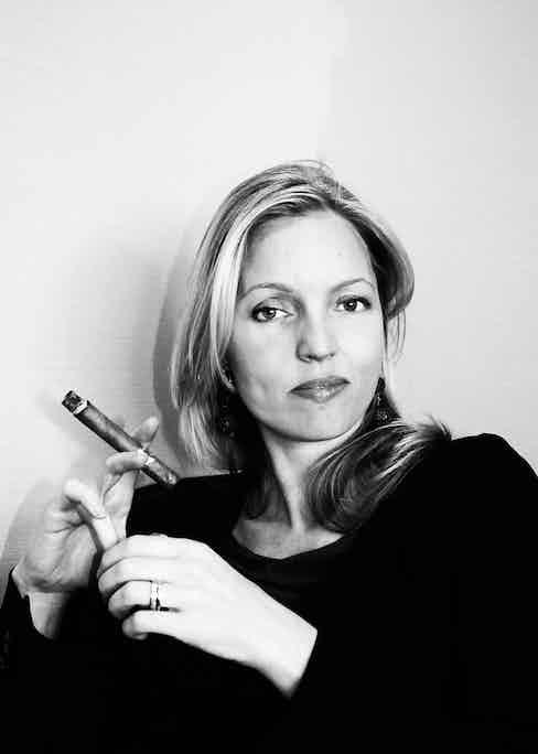 Jemma Freeman, Managing Director of Hunters & Frankau, the largest British premium cigar importer.