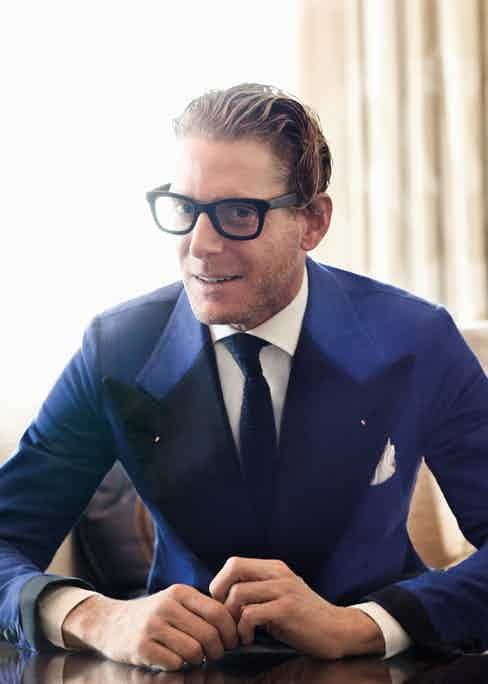 It seems that just as it was in the 1940's and 70's the wide lapel is back, recalling the classic age of masculinity following a period of androgyny and youth obsession in the late 90's. Italian style icon Lapo Elkan has been instrumental in the revival of broad lapels.