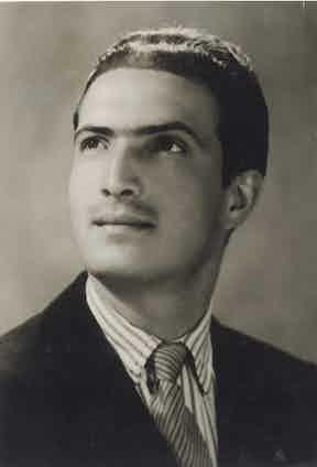 Marc's Father, Mario De Luca in 1942.