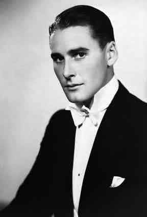 A young Flynn posing for a portrait, circa 1930s.