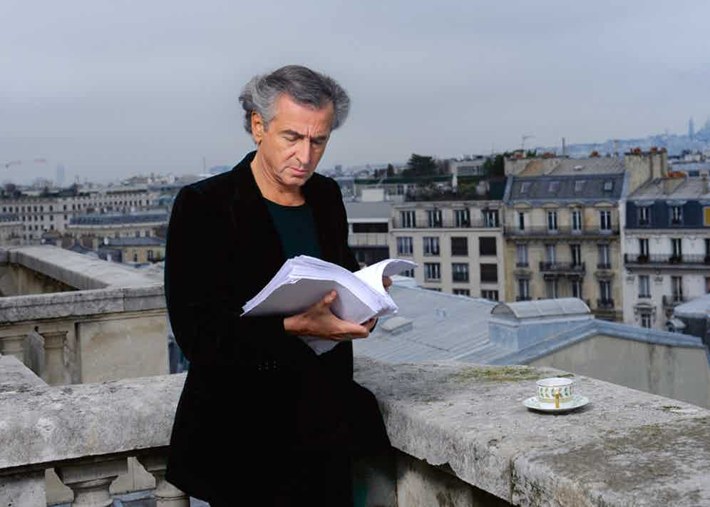 Levy photographed for Paris Match in 2010.