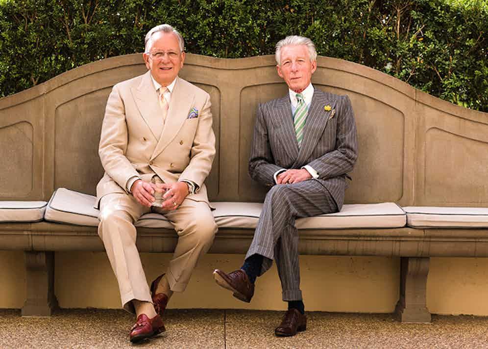 John Hitchcock with Edward Sexton.