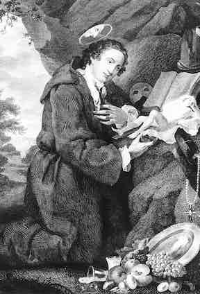 Sir Francis Dashwood (1708-81) worshipping Venus
