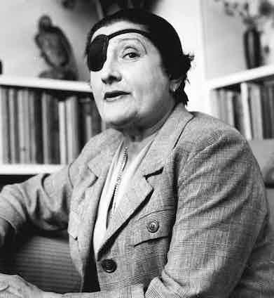 One of Dietrich's lovers, Mercedes de Acosta.