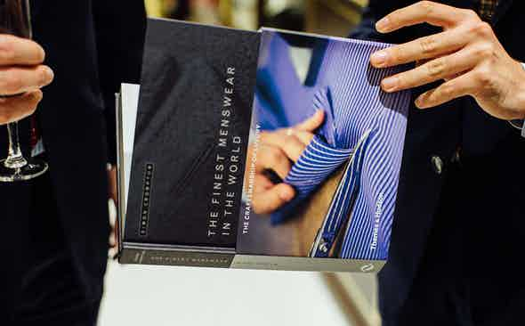 'The Finest Menswear In The World' Paris Book Launch