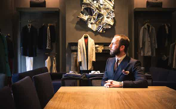 The Cutting Edge: Davide Taub, Gieves & Hawkes