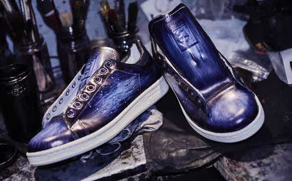 Paulus Bolten for The Rake: The Patinaed Sneaker