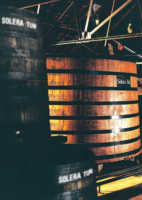 The legendary Glenfiddich Solera vat, used for ageing Glenfiddich 15 Year Old.