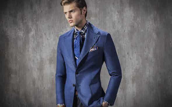 Rubinacci for The Rake: The Travel Blazer & All-Season Silk Scarves