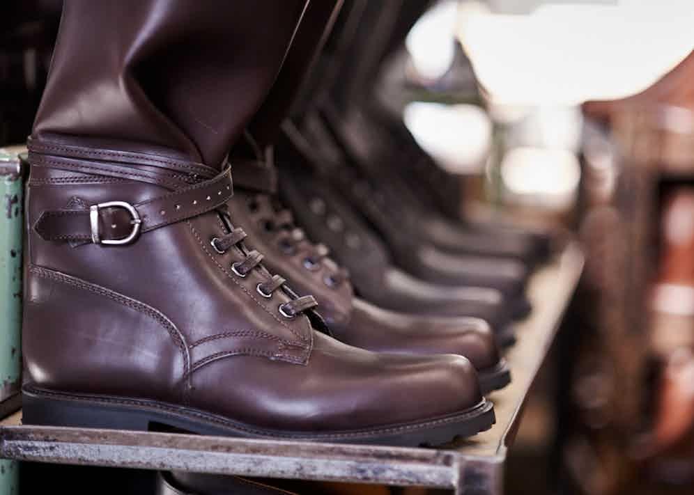 The Rake's very own Husaren boots lined up awaiting dispatch.