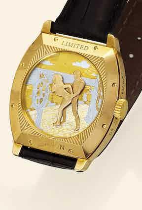 Antoine Preziuso's Sailing Dream, sold by Antiquorum in 2007.