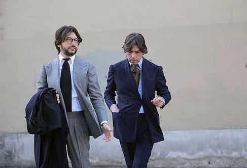 Valentino and Nicola Ricci of Sciamat.