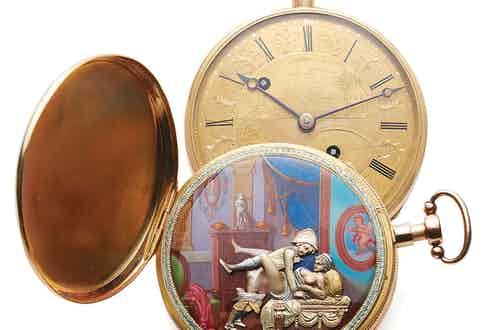 A Bovet pocket watch, circa 1810, sold by Antiquorum in 2015.