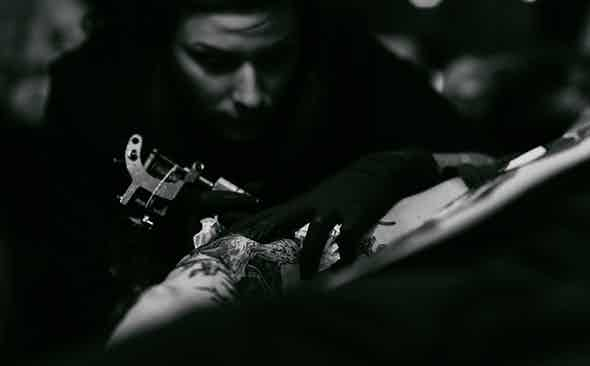 The Femme Fatale of Tin Tin Tattoo's