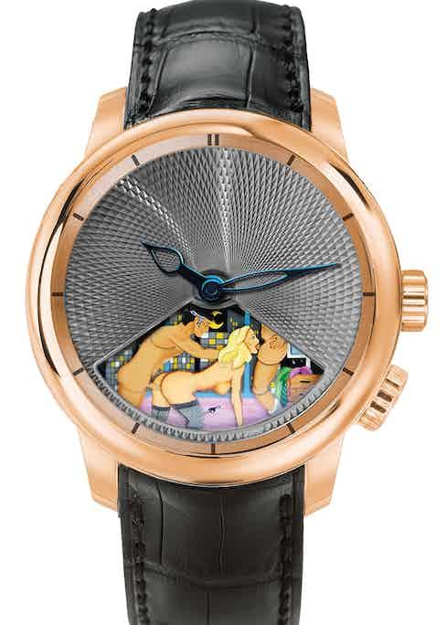 The Jacob & Co. Caligula with rotating dial.