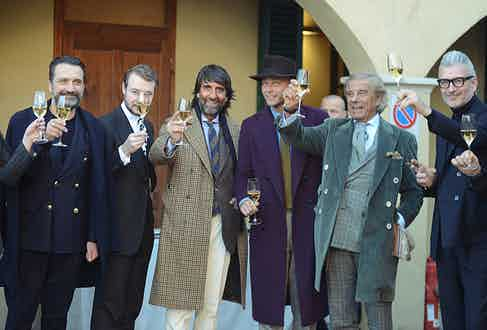 From left to right: Drew Andrea, Aleksandar Cvetkovic, Andrea Luparelli, Luca Rubinacci, Lino Ieluzzi and Domenico Gianfrate.