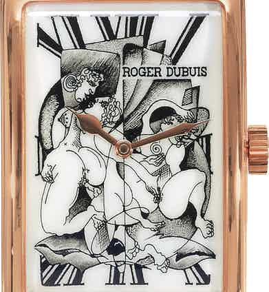 Roger Dubuis' MuchMore - Cerotique sold by Antiquorum in 2005.