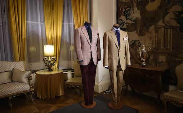 Rubinacci's 'London House': Entering the Victoria & Albert Museum