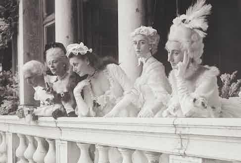 Count Brandolin, Jean Ralli, Donna Irene Medici, Alessandro Perone, Countess Brandolin