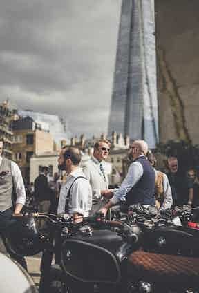Yet more sartorially-inspired motorcyclists.