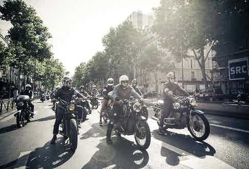 A final shot of last year's RRL ride.