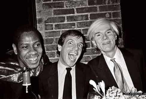 André Leon Talley, Steve Rubell & Andy Warhol