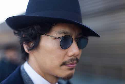 Hat - Borsalino, Glasses - Oliver Peoples