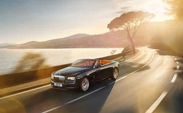 THE ROLLS-ROYCE DAWN: TOPLESS BEAUTY