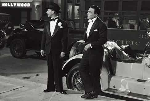 The transition between white and black tie dress codes was a quick, but at times uncertain one. For much of the 1920s, the two would often be worn alongside one another.
