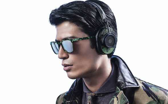 Master and Dynamic for The Rake : The Camouflage MH40 Headphones