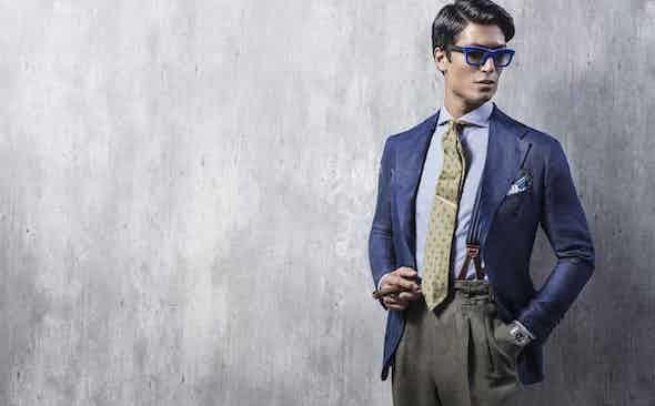 Rubinacci for The Rake: The Unstructured Summer Linen Blazer