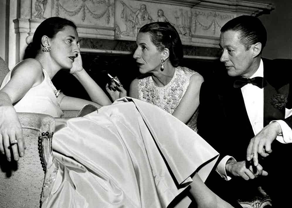 Slim Keith with Diana and Reed Vreeland