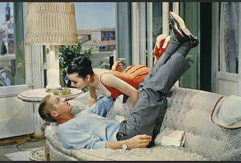 Steve McQueen on the set of The Honeymoon Machine.