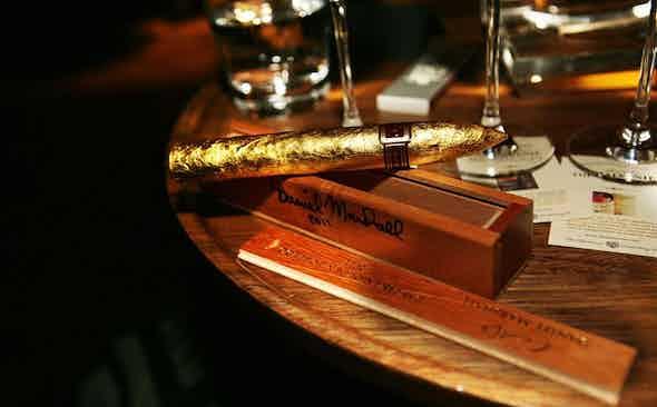 Holy Smokes: Daniel Marshall 24kt Golden Torpedo