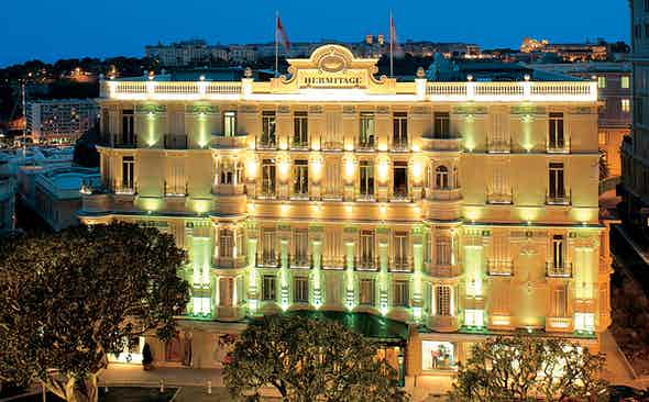 Monaco's Other Palace | Hôtel Hermitage