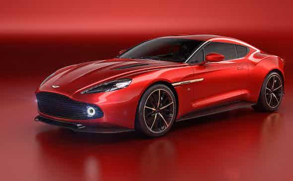 Aston Martin unveil stunning Vanquish Zagato