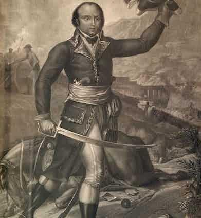 Thomas-Alexandre Dumas, c.1800, in Republican Army uniform.
