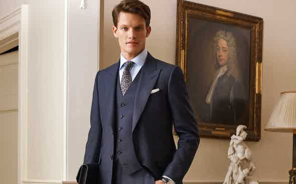 The Dunhill Power Dressing Edit