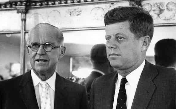 Rakish Dynasties: Joe and John F Kennedy