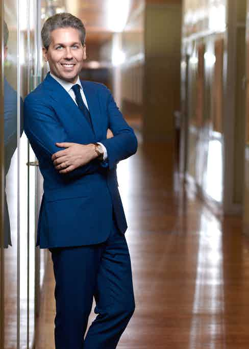 Julien Marchenoir, Marketing Director at Vacheron Constantin.