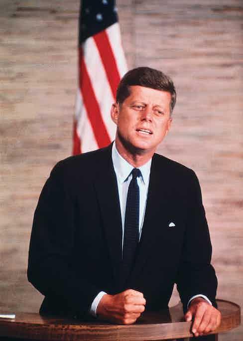 Senator John F. Kennedy, October 1960