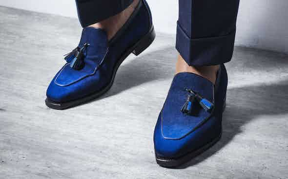 Corthay for The Rake: The Homage to Marc Chagall Brighton Loafer