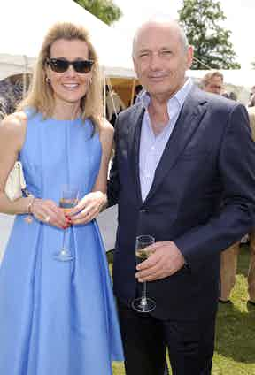 Carine Feniou and Ron Dennis